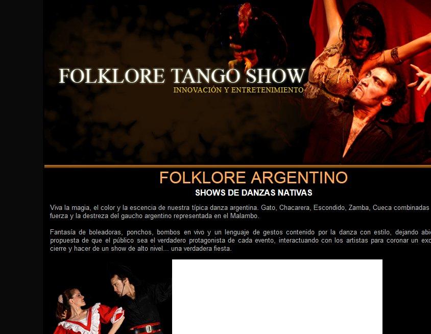 Folklore Tango Show