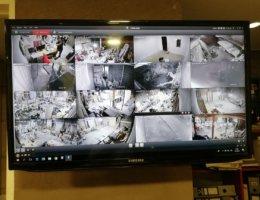 Instalacion de camaras hikvision en fabrica de muebles