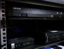 Reorganización de cableado , instalacion de rack y cctv 1080p