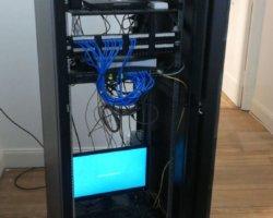✓Instalación cableado estructurado #cat5e #amp 1gb #lan