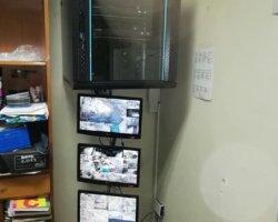 Instalacion y restructuracion cableado DVR k2 Hikvision